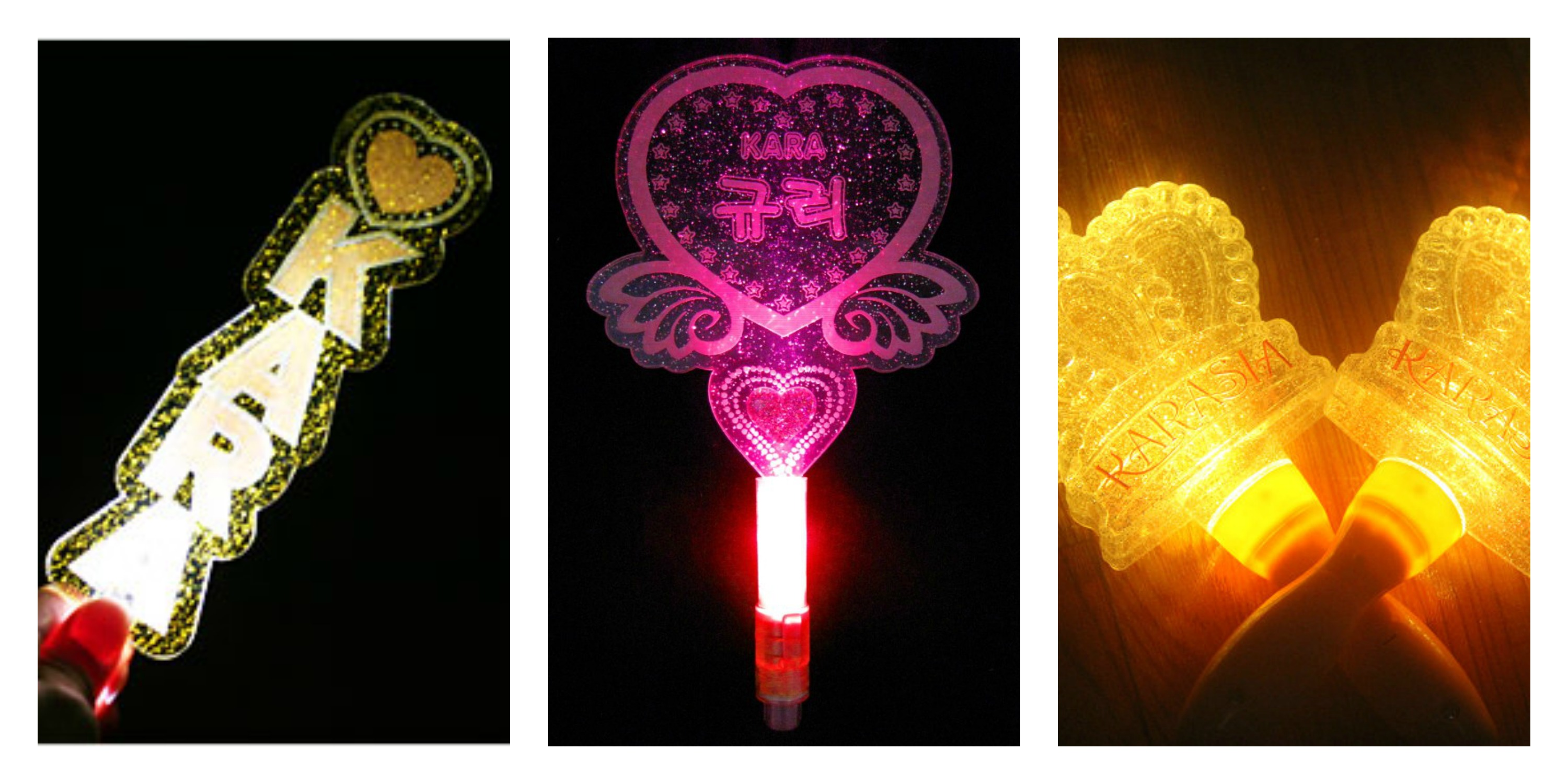 Idols And Their Official/Unofficial Lightsticks | Korea